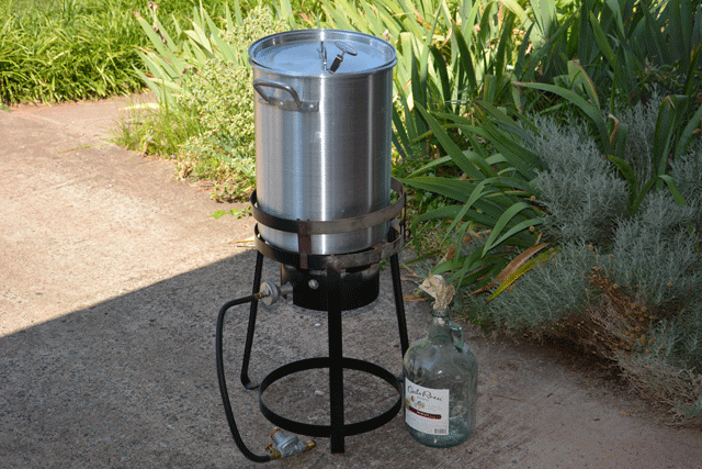 Beer cooker and carboy